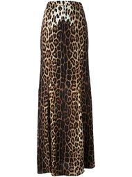 юбка с леопардовым узором Boutique Moschino