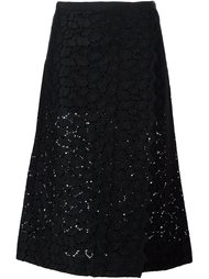 юбка из кружева макраме Sacai