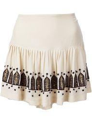 юбка в складку 'Chachani' Figue