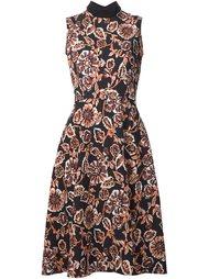 платье с цветочным принтом  Rodarte