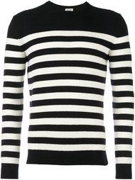 классический свитер в полоску Saint Laurent
