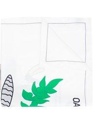платок с мультяшным рисунком Oamc