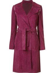 пальто 'Gretchen' с поясом Zac Zac Posen