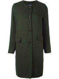 однобортное пальто  'S Max Mara