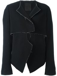 укороченный пиджак с необработанными краями Lost & Found Ria Dunn