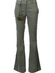 брюки 'Gregorie' с бахромой Figue