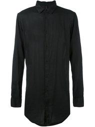 однобортная рубашка Poème Bohémien