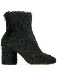 фактурные ботинки по щиколотку Maison Margiela