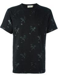 футболка с принтом лис Maison Kitsuné