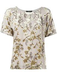 блузка с бархатной отделкой Etro