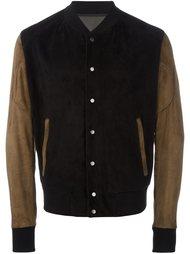 куртка-бомбер с панельным дизайном  Drome