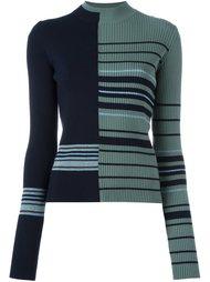 трикотажный свитер в полоску Maison Margiela