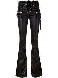 расклешенные брюки Unravel