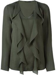 блузка с оборками  Etro