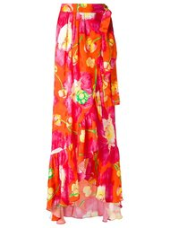 silk printed skirt Isolda