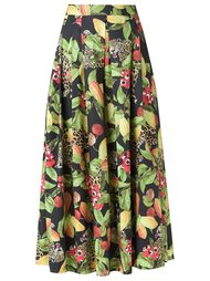 printed midi skirt Isolda