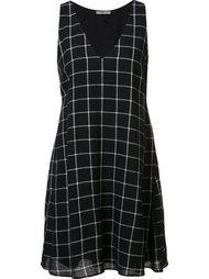 платье в клетку 'Sami' Zac Zac Posen