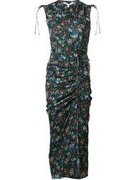 платье 'Teagan' с цветочным принтом  Veronica Beard