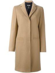 пальто с аппликацией кота MSGM