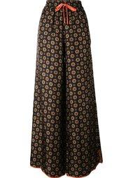 пижамные брюки с цветочным принтом  For Restless Sleepers
