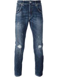 джинсы 'Conway' с потертой отделкой Dondup