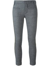 брюки с панельным дизайном в ломаную клетку Haider Ackermann