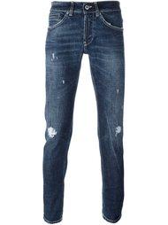 джинсы 'George' с потертой отделкой Dondup
