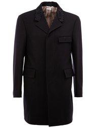 пальто с карманами  Thom Browne