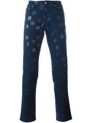 джинсы с принтом 'Medusa' Versace