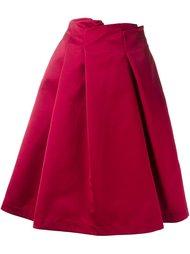 плиссированная юбка  Jil Sander Navy