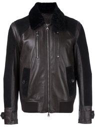 куртка с воротником из овчины Salvatore Ferragamo
