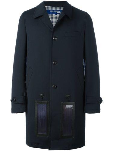 пальто с контрастными панелями Junya Watanabe Comme Des Garçons Man