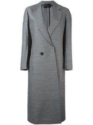 однобортное пальто  Calvin Klein Collection