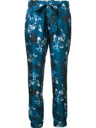 брюки 'Heather' с цветочным принтом Zac Zac Posen