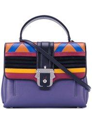 сумка через плечо дизайна колор-блок Paula Cademartori