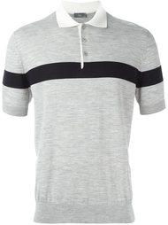 футболка-поло с контрастной полосой Dior Homme