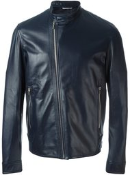 кожаная куртка на молнии Dior Homme