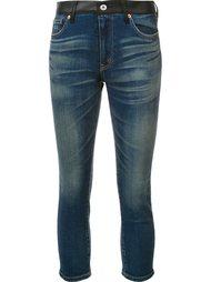 узкие джинсы с карманом в клетку Junya Watanabe Comme Des Garçons