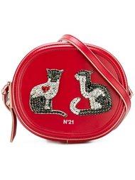 сумка через плечо с украшением Nº21