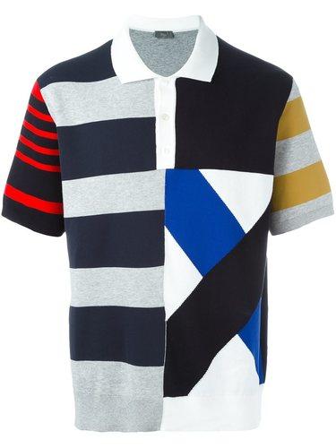 полосатая футболка-поло  Dior Homme