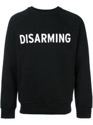 толстовка с логотипом 'Disarming' Palm Angels