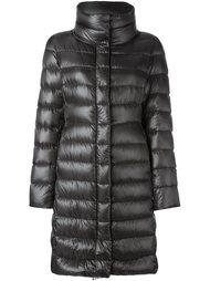 пальто-пуховик с высокой горловиной Herno
