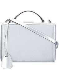 сумка 'Grace Small Metallic Box Bag' Mark Cross