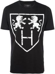 футболка с принтом львов Hydrogen