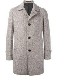 пальто с узором-елочкой Eleventy