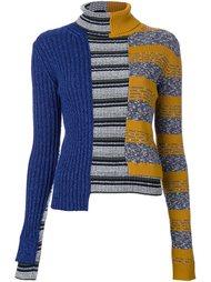 свитер в стиле пэчворк Maison Margiela