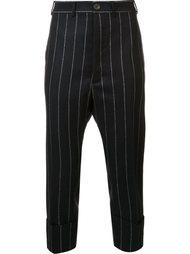 укороченные брюки в полоску Vivienne Westwood