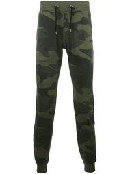 камуфляжные спортивные брюки Hydrogen