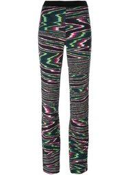 расклешенные брюки с эластичным поясом Missoni