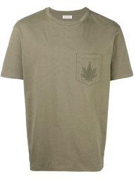 футболка с нагрудным карманом Palm Angels